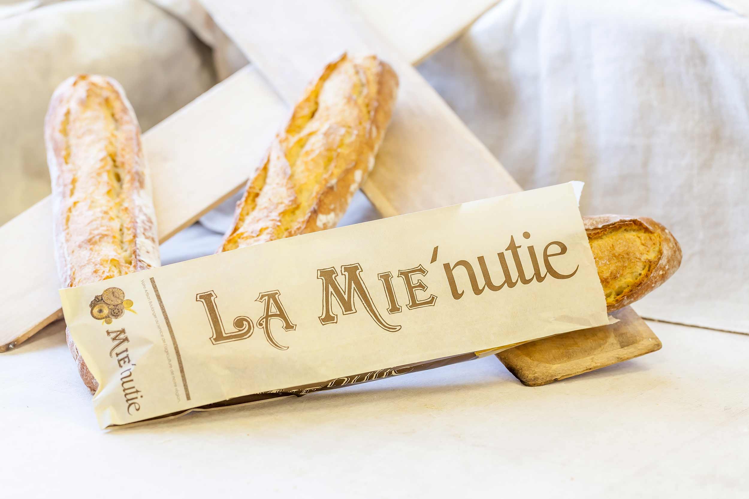 La MIE'nutie- Baguette au blé dur régional